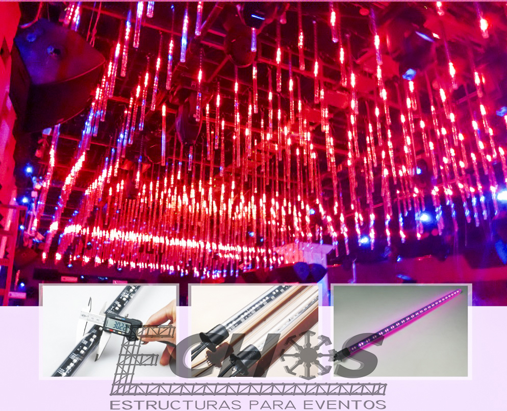 Estructuras Truss – Luces LED -02