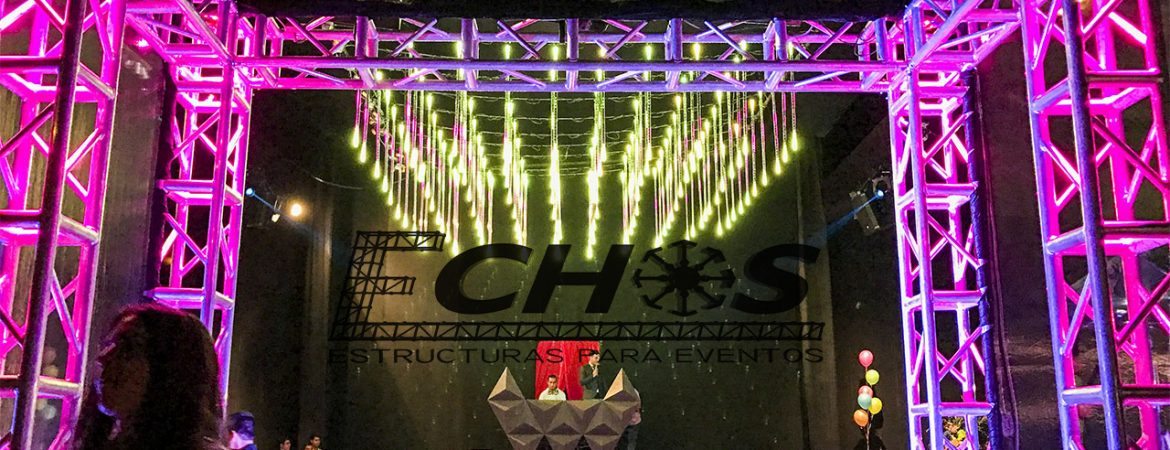 Estructuras Truss – Luces LED -06